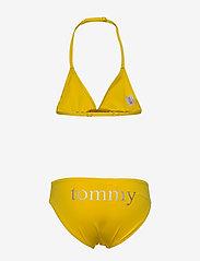Tommy Hilfiger - TRIANGLE SET - bielizna komplet - bold yellow - 1