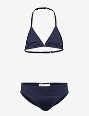 Tommy Hilfiger - TRIANGLE SET - underwear sets - pitch blue - 0