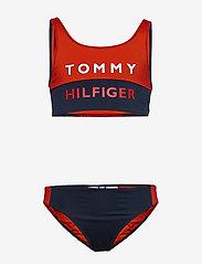 Tommy Hilfiger - BRALETTE SET - underwear sets - red glare 105-670 - 0