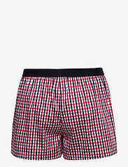 Tommy Hilfiger - SS SHORT SET WOVEN CHECK - sæt - primary red/ag/gingham/yd/check - 3
