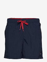 Tommy Hilfiger - SF MEDIUM DRAWSTRING - shorts de bain - pitch blue - 0