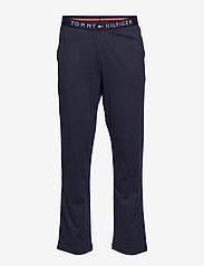Tommy Hilfiger - JERSEY PANT - bottoms - navy blazer - 0