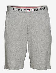 Tommy Hilfiger - JERSEY SHORT - bottoms - grey heather - 0