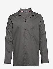 Tommy Hilfiger - LS WOVEN SHIRT - pyjamas - magnet - 0