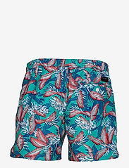 Tommy Hilfiger - MEDIUM DRAWSTRING, 6 - shorts de bain - tropic leaf spectra green - 1