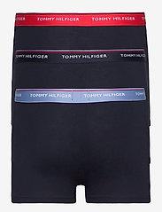 Tommy Hilfiger - 3P WB TRUNK - caleçon - prim red/desert sky/moon blue - 1