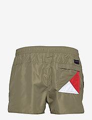 Tommy Hilfiger - RUNNER - shorts de bain - mash green - 1