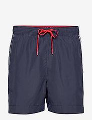 Tommy Hilfiger - MEDIUM DRAWSTRING - shorts de bain - pitch blue - 0