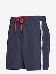 Tommy Hilfiger - MEDIUM DRAWSTRING - swim shorts - pitch blue - 2