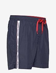Tommy Hilfiger - MEDIUM DRAWSTRING - shorts de bain - pitch blue - 3