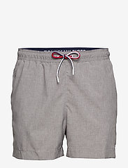 Tommy Hilfiger - MEDIUM DRAWSTRING-HE - swim shorts - grey heather - 0