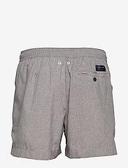 Tommy Hilfiger - MEDIUM DRAWSTRING-HE - shorts de bain - grey heather - 1