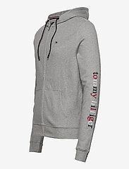 Tommy Hilfiger - FZ HOODIE LWK - basic sweatshirts - grey heather - 2
