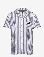 Tommy Hilfiger - SS PJ SHIRT - pyjamas - coastal fjord - 0