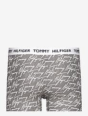 Tommy Hilfiger - TRUNK PRINT - boxers - ag/signature/dark grey heather - 1