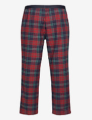 Tommy Hilfiger - LS PANT FLANNEL SHIRT SET - pyjama's - desert sky / regatta red - 3