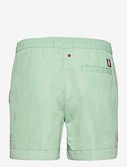 Tommy Hilfiger - MEDIUM DRAWSTRING - shorts de bain - sea mist mint - 1