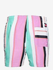 Tommy Hilfiger - SF MEDIUM DRAWSTRING - shorts de bain - multi stripe - 1