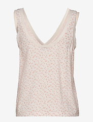 Tommy Hilfiger - WOVEN CAMI PRINT - overdele - pale blush - 1