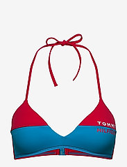 Tommy Hilfiger - FIXED TRIANGLE RP - bikini tops - laser pink - 0