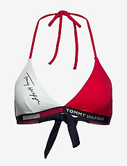 Tommy Hilfiger - FIXED TRIANGLE RP - bikini tops - red glare - 0