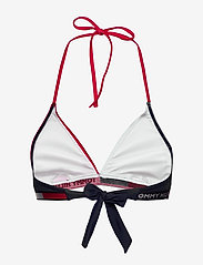 Tommy Hilfiger - FIXED TRIANGLE RP - bikini tops - red glare - 1