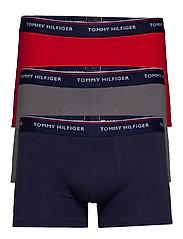 Trunk 3 pack premium essentials - PEACOAT/QUIET SHADE/TANGO RED