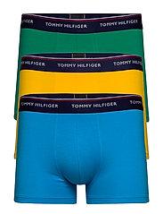 Trunk 3 pack premium essentials - GOLF GREEN/DRESDEN BLUE/SPEC Y