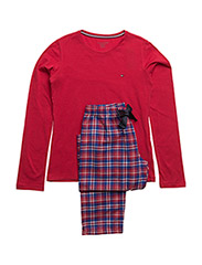 FLANNEL SET LS, 14-1 - CRIMSON