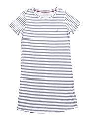 SS DRESS STRIPE - WHITE