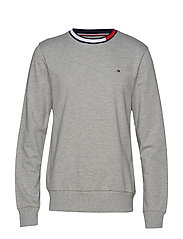 TRACK TOP LS HWK - GREY HEATHER