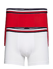 2P TRUNK FASHION, 08 - TANGO RED/ WHITE