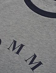 Tommy Hilfiger - CN SS TEE LOGO - kortermede t-skjorter - grey heather - 2