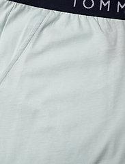 Tommy Hilfiger - CN SS SHORT JERSEY SET - pyjamas - desert sky/luminous blue - 5