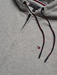 Tommy Hilfiger - FZ HOODIE LWK - basic sweatshirts - grey heather - 3