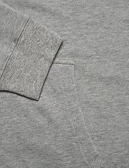 Tommy Hilfiger - FZ HOODIE LWK - basic sweatshirts - grey heather - 4