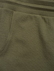 Tommy Hilfiger - TRACK PANT RIB - bottoms - army green - 3
