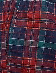 Tommy Hilfiger - LS PANT FLANNEL SHIRT SET - pyjamas - desert sky / regatta red - 6