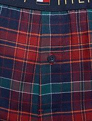 Tommy Hilfiger - LS PANT FLANNEL SHIRT SET - pyjamas - desert sky / regatta red - 7