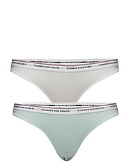 3P THONG - PLUME / CALYPSO CORAL / WHITE