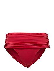 FOLD OVER CLASSIC BIKINI - TANGO RED