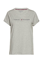 RN TEE SS LOGO - GREY HEATHER