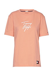 CN TEE SS LOGO - PAPAYA PUNCH