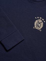 Tommy Hilfiger - CN TOP LS HWK - overdele - navy blazer - 4