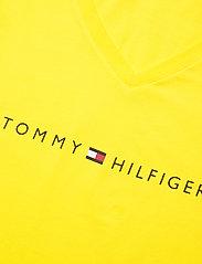 Tommy Hilfiger - SS SHORT SET PRINT - pyjama''s - neon yellow/white - 4