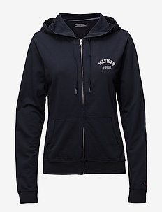 ZIP THRU HOODY - NAVY BLAZER