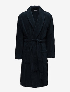 Icon bathrobe - morgenkåber - navy blazer-pt