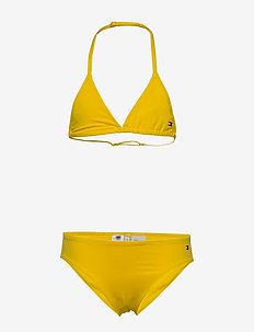 TRIANGLE SET - underwear sets - bold yellow