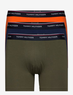 3P BOXER BRIEF - boxerkalsonger - army grn/yale navy/prn orng