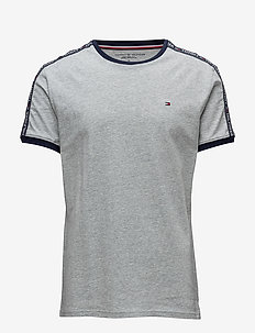 RN TEE SS - grey heather